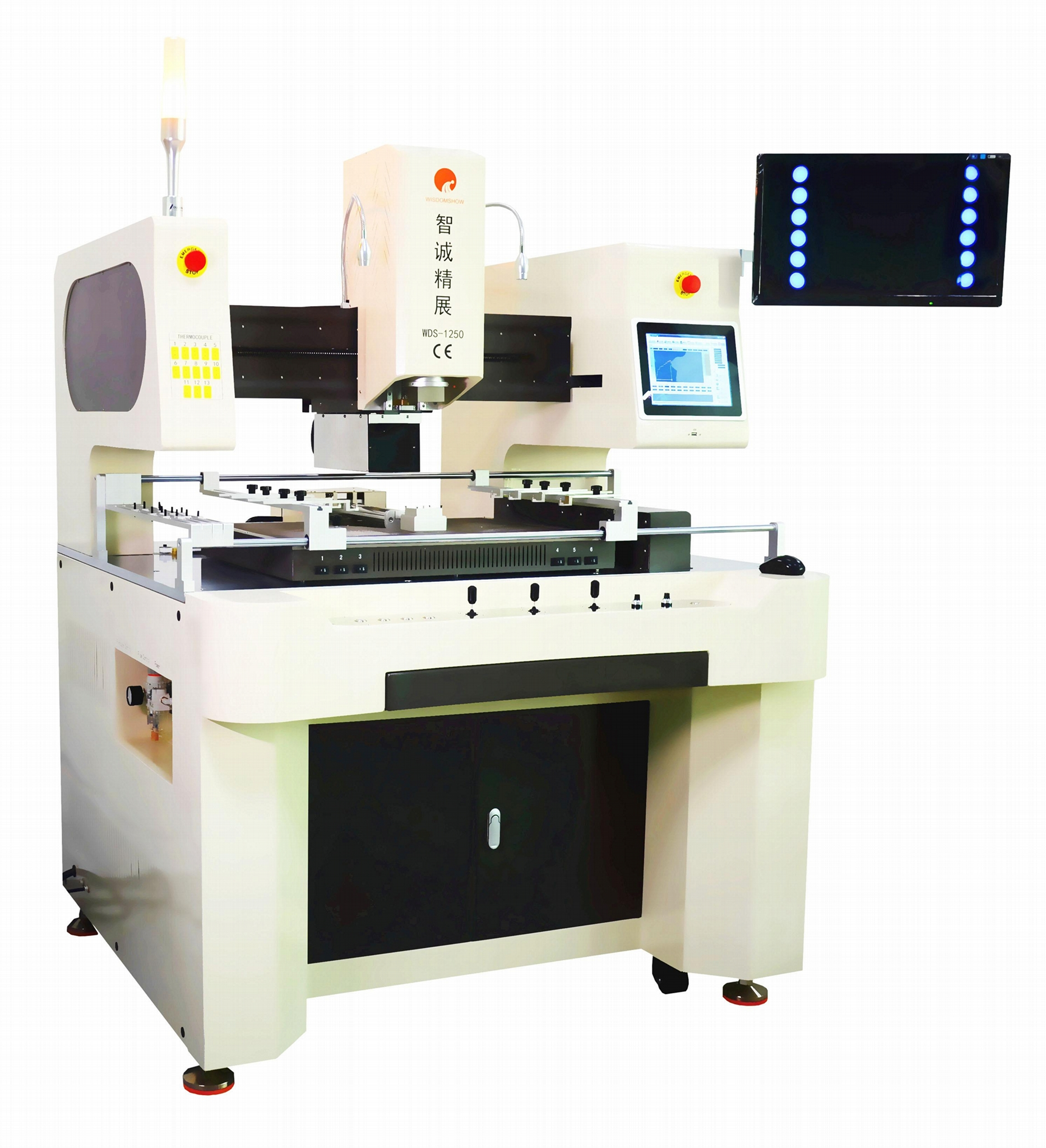 2019 Newest Full Automatic BGA Rework Station Repair Machine For Multiple Mother 1