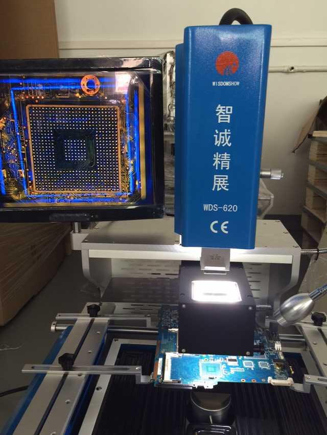 Automatic BGA VGA Repair Machine WDS-620 For Laptop Motherboard 5