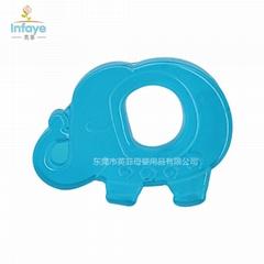 雙色注水牙膠 磨牙器 適合寶寶長牙期間的安撫工具