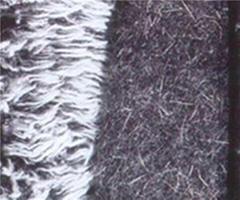 popular cheap price woolen wool blend tweed fabric for women cloth Woolen Cloth