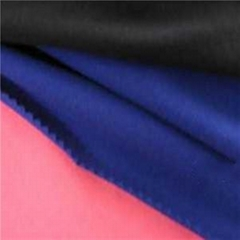 100%poly polyester cationic dye gabardine fabric Fiber Imitation Wool