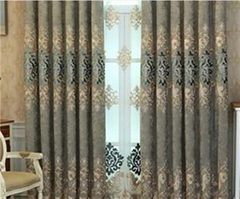 Factory Supply High Grade Soft and Drapely Simple Style Solid Window curtains