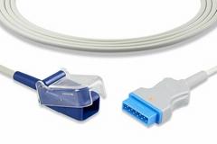 GE Marquette Oximax SpO2 adapter cable, 2021406-001