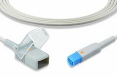 Philips Nellcor SpO2 adapter cable, M1943A, M1943AL