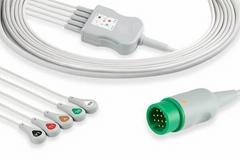 Physio Control Lifepak 5 lead ECG cable,11110-000066, 11110-000067