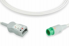 Mindray 3 lead ECG trunk cable,  0010-30-43138, EV6230N, 0010-30-43128, EV6202