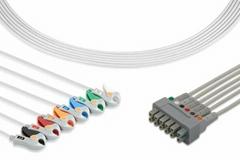 GE ECG Multi-Link Leadwire Set, 6-Lead wire,421930-001, 421932-001, 421931-001