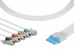 Philips ECG 5 lead wire set, grabber, M1644A, M1968A, M1645A, M1971A