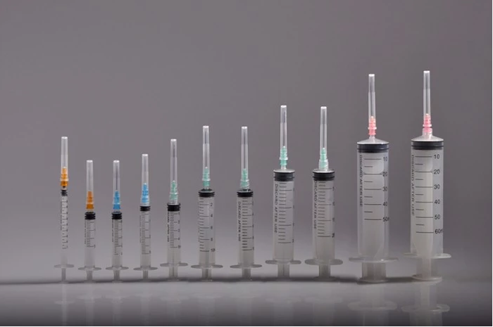 Disposable medical syringes and needles 1ml -60ml