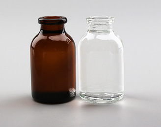 20ml moulded antibiotic glass sterile vials injection glass bottle with rubber s