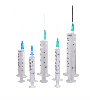 Medical Two Parts Disposable Syringe With CE & ISO  1