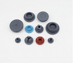 Pharmaceutical Butyl Rubber Stopper used for Glass Bottle
