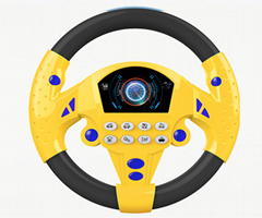 Toy Steering Wheel with 8 sounds