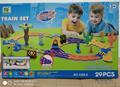 DIY Blocks Tracks Set New arrival toys 3