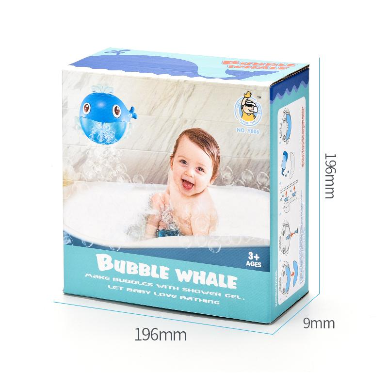 Bubble Whalle Bath Toys New Arrival Hot Selling WIth 20pcs Music 1