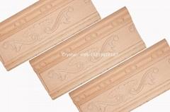 hand carved wood crown m