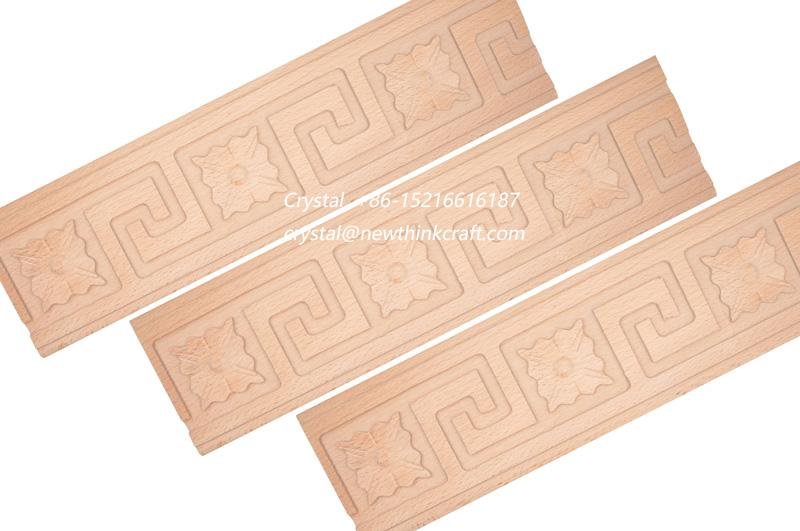 wood carved mouldings for interior decoration