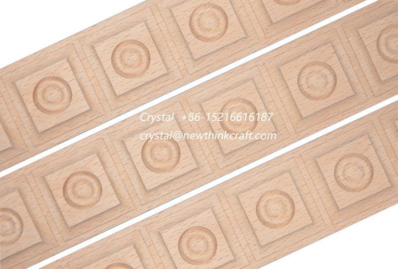 wood carved  moulding for interior decoration