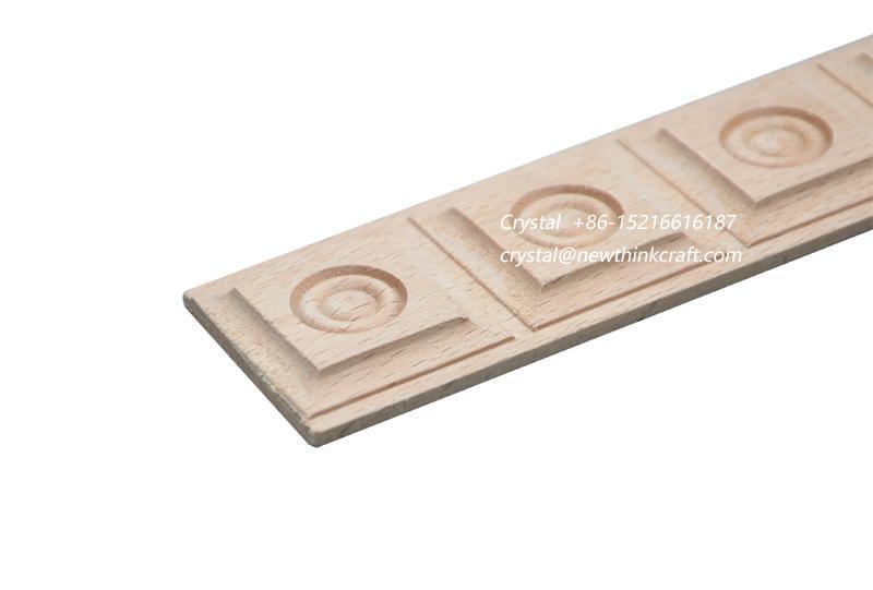 wood carved  moulding for interior decoration 3