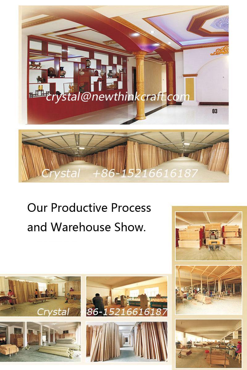 wood carved  moulding for interior decoration 5