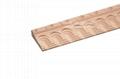 cnc carved wood baseboard moulding for interior decoration 3
