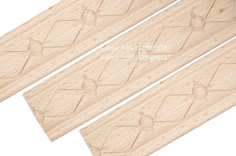 cnc carved wooden moulding for interior decoration