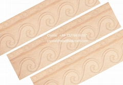 solid wood carved crown mouldings for interior decoration