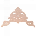 carved wooden onlay solid wood carving ornaments wood applique for furniture 3