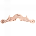 carved wooden onlay solid wood carving ornaments wood applique for furniture 2