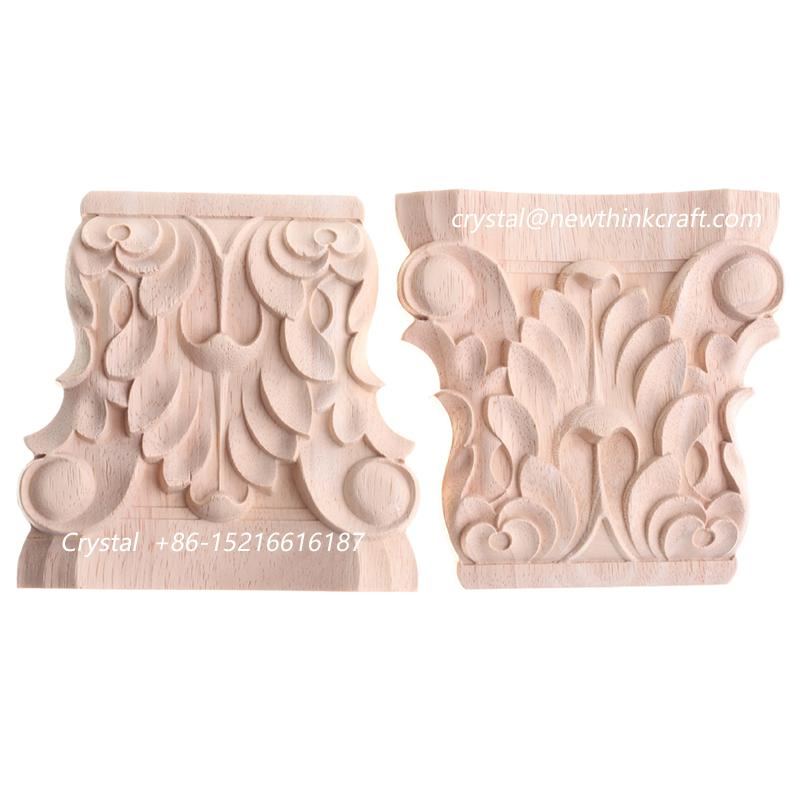 carved wooden classic corbel solid wood carving corbels for furniture 1