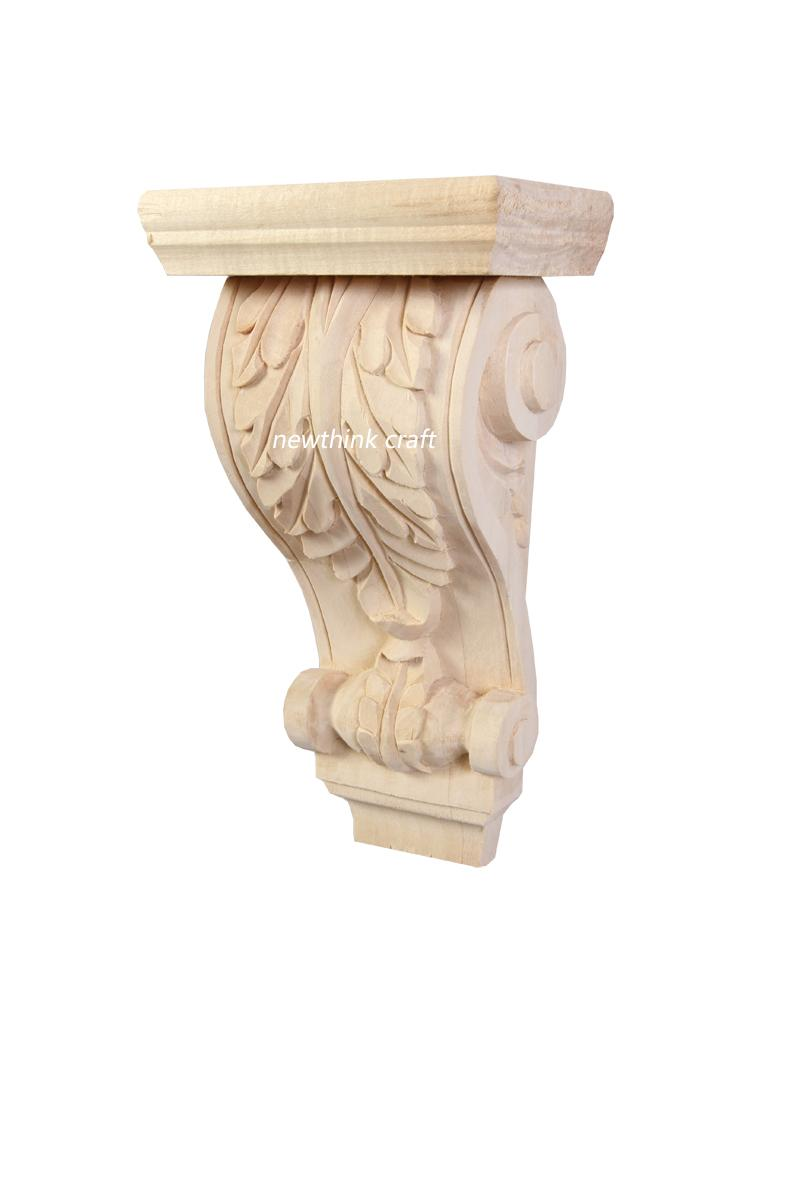 wooden classic corbel solid wood carving corbels for furniture roman column 2