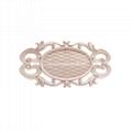 carved wooden onlay for door decoration ornaments wood applique for door