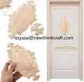 carved wooden onlays for furniture decoration ornaments wood appliques 4