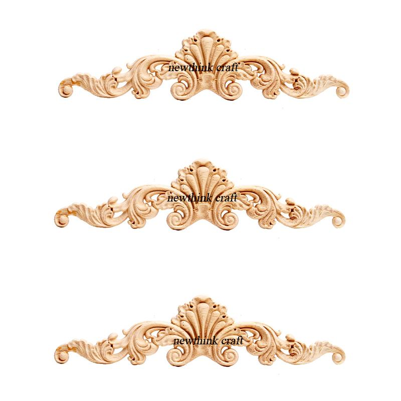 carved wooden onlays for furniture decoration ornaments wood appliques 3