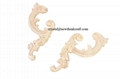carved wooden onlays for furniture decoration ornaments wood furniture parts 1