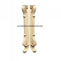 carved wood legs for furniture wooden ornaments furniture parts 2
