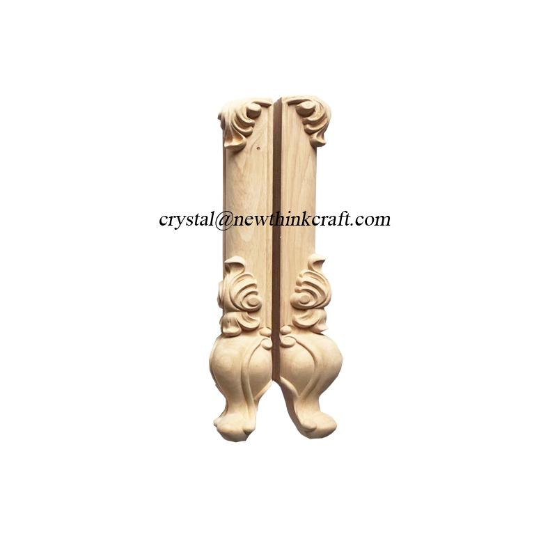 carved wood legs for furniture wooden ornaments furniture parts 4