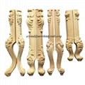 carved wood legs for furniture wooden