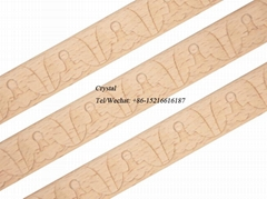 carved wood baseboard moulding for interior decoration