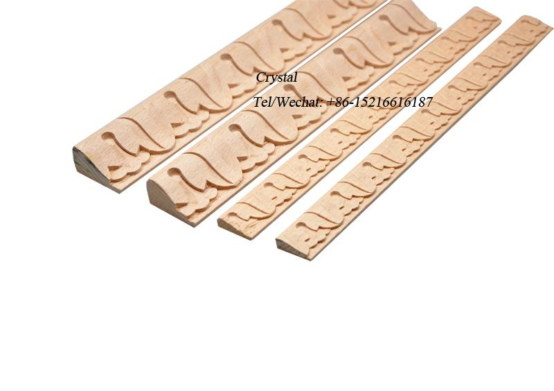 carved wood baseboard moulding for interior decoration 5