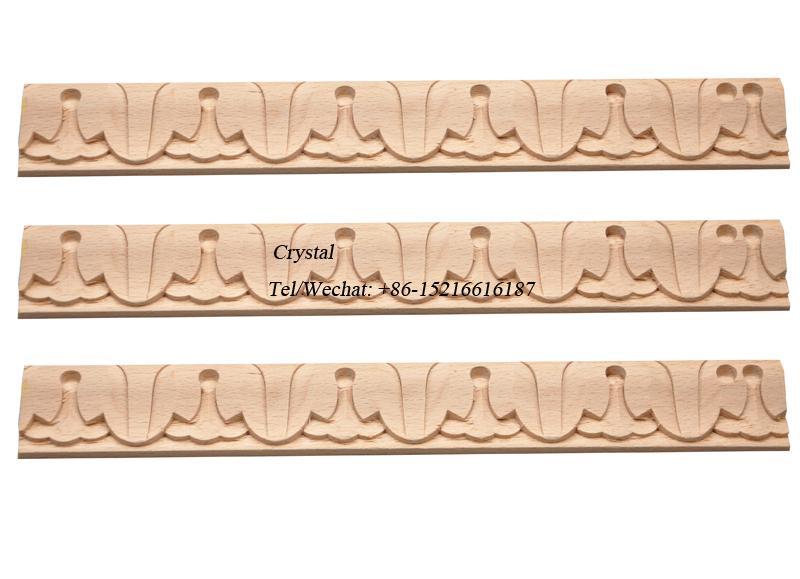 carved wood baseboard moulding for interior decoration 6