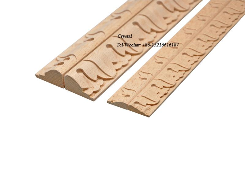 carved wood baseboard moulding for interior decoration 3