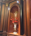 wood furniture parts wooden accessory for cabinets wood wine cabinet