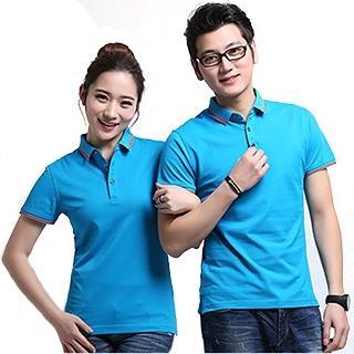 t恤短袖纯棉定做男女广告文化POLO衫印字图logo 3