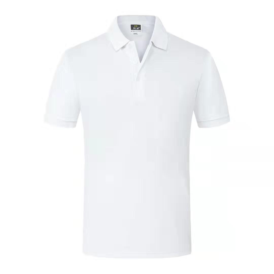 t恤短袖纯棉定做男女广告文化POLO衫印字图logo 5