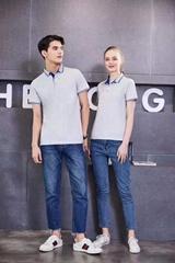 定製T卹創意文化廣告衫班服純棉diy短袖印字logo聚會工作衣服