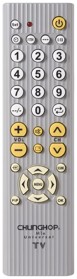 M1E IR Universal TV Remote Control For LED LCD HDTV