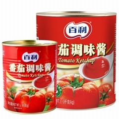 百利番茄调味酱中餐调色调味烹饪专用 3KG*6罐 805g*12罐