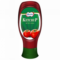 430ml Tomato Ketchup Tomato Paste with Squeeze Bottle