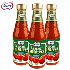 百利番茄醬沙司袋裝意大利面手抓餅薯條披薩壽司烤冷面305G*24瓶